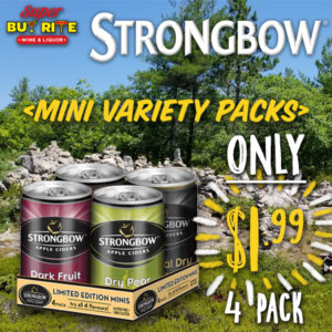 strongbow minis